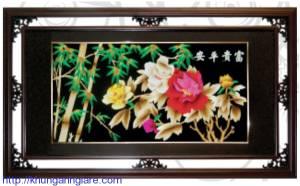khung ảnh gỗ giá rẻ kích thước 21x30cm