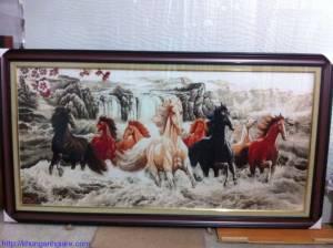 khung ảnh gỗ giá rẻ kích thước 30x40cm