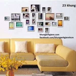 Bộ 23 khung tranh treo tường(MS16)