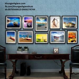 Bộ 10 khung ảnh treo tường(MS30)