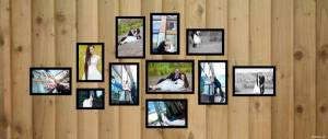 Bộ 11 khung ảnh treo tường(MS35)