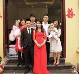 lễ ăn hỏi Hạnh Dung - Khánh Hùng (1/11/2015)