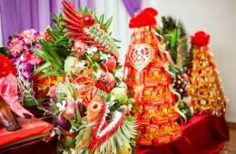 Sắp lễ ăn hỏi tại Hà Nội