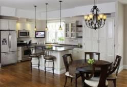 Đèn trang trí nhà bếp và phòng ăn - Gắn kết yêu thương