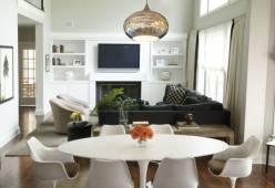 Đèn gắn trần phù hợp không gian nội thất