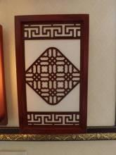 Đèn ốp tường khung gỗ họa tiết 947