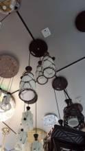 Đèn thả gốm