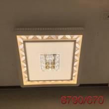 Đèn mâm pha lê 8790/670