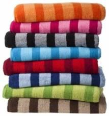Khăn tắm sọc vằn