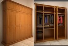 Nên chọn tủ quần áo gỗ tự nhiên hay gỗ công nghiệp