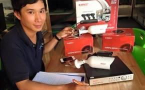 Demo camera tại Công ty Công Nghệ Lê Tấn