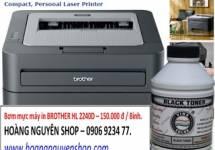 Bơm mực máy in BROTHER HL 2240D - 150.000 Đ / Bình.