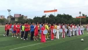 Giải bóng đá các cơ sở đào tạo lái xe Nghệ An chào mừng ngày NGVN 20/11