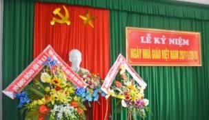 Trung tâm sát hạch mít tinh kỷ niệm ngày Nhà giáo Việt Nam 20-11