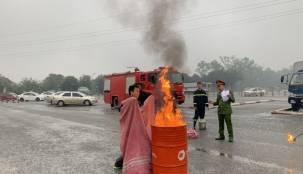 Tập huấn công tác phòng cháy, chữa cháy năm 2021