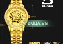 Đồng hồ nam mạ vàng, điểm nhấn cho phong cách thời trang đẳng cấp  