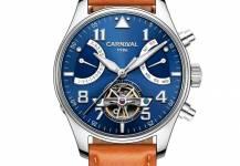 Những chiếc đồng hồ Carnival dây da được săn lùng nhiều nhất năm 2017