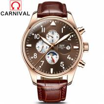Đồng Hồ Nam Cao Cấp Carnival 8764G-03 Automatic