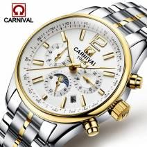 Đồng hồ nam đẹp máy cơ tự động CARNIVAL 8702G-01 đẳng cấp doanh nhân