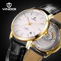 Đồng Hồ Cơ Nam VINOCE V633251-02 Thụy Sĩ Cao Cấp