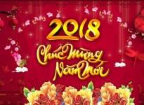 Chúc mừng năm mới - Xuân Mậu Tuất 2018