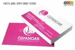 In card visit chất lượng cao, nhanh giá rẻ tại Văn Miếu
