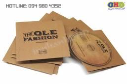 In vỏ đĩa CD/ DVD kraft nhanh giá rẻ Ngã Tư Sở