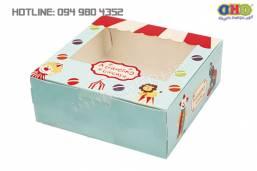 Làm vỏ hộp bánh sinh nhật nhanh giá rẻ Hà Nội