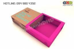 Mẫu hộp giấy đựng socola đẹp, in nhanh giá rẻ