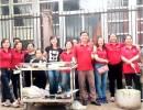 Công ty bảo vệ vệ sỹ Trâm Anh tham gia phát cháo từ thiện tại bệnh viện ung bướu Nghệ An