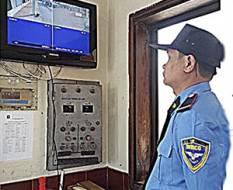 Công tác bảo vệ kết hợp camera an ninh