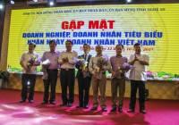 Lãnh đạo tỉnh Nghệ An gặp mặt kỷ niệm ngày Doanh nhân Việt Nam 13/10