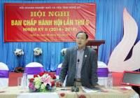 Ban chấp hành Hội Doanh nghiệp nhỏ và vừa tỉnh Nghệ An hội nghị lần thứ 5