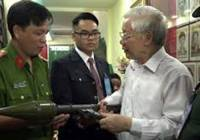 Tổng Bí thư Nguyễn Phú Trọng đốt lò quét rác tham nhũng