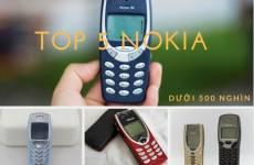 Top 5 Điện Thoại Nokia Giá Rẻ Dưới 500 Ngìn