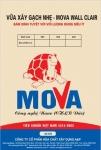 Vữa xây tường gạch nhẹ và gạch xi măng cốt liệu - Mác 50# Mova Wall 600 Clair