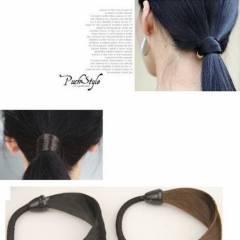 Dây cột tóc bằng tóc giả