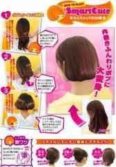 Dụng cụ tạo kiểu tóc biến dài thành ngắn