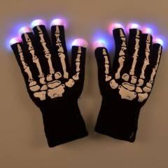 Găng tay xương phát sáng đổi màu