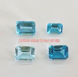 Đá Topaz Xanh - Blue Topaz 04