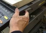 Các thông báo lỗi hiển thi trên bảng điều khiển máy photocopy
