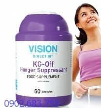 Thực phẩm chức năng Vision KG-Off Hunger Suppresant - Giảm cảm giác đói