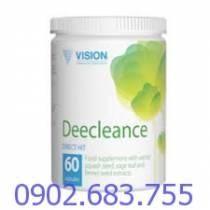 Deecleance Vision loại bỏ ký sinh trùng, vi khuẩn gây bệnh và nấm hiệu quả