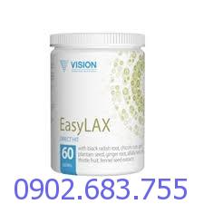 EasyLAX Vision giải pháp hiệu quả cho chứng táo bón, đầy hơi, chướng bụng