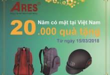 20 năm Ares có mặt tại Việt Nam