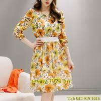 Váy liền thân Hàn Quốc hiệu Oran