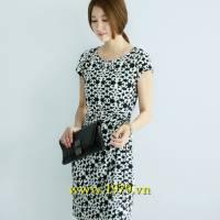 Váy đầm công sở Hàn Quốc hiệu Luxury