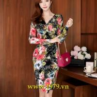 Đầm liền thời trang Hàn Quốc Esther