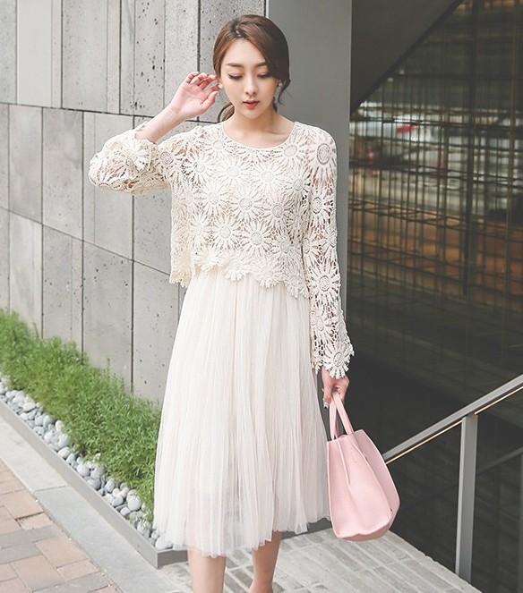 Váy liền thân Hàn Quốc DR5654