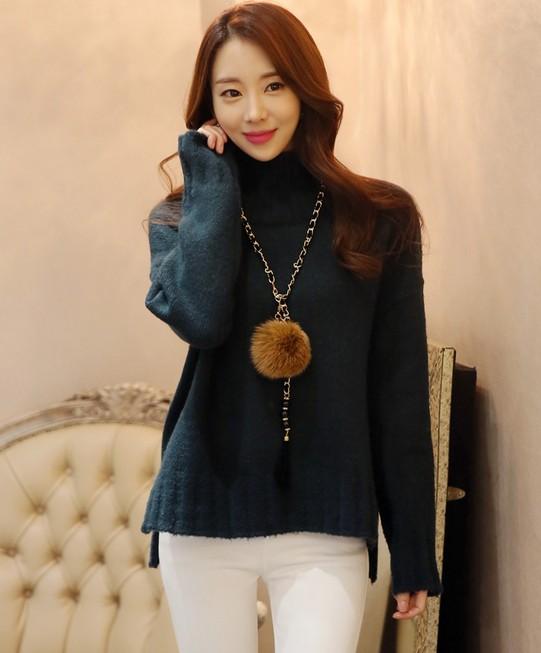 Áo len nữ Hàn Quốc KN21730